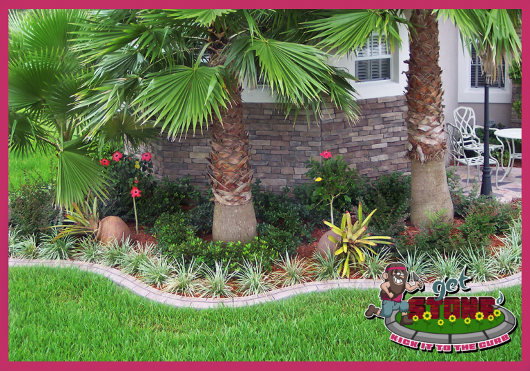 Get Stoned - Custom Stamped Curbing - Paver